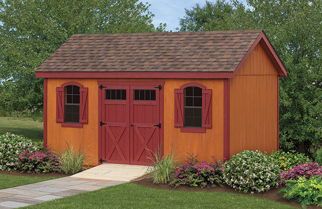 Regular Highwall Series shed