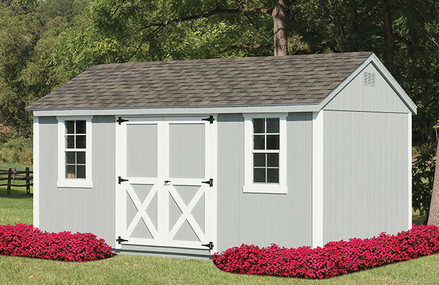 traditional series shed