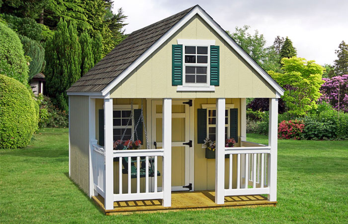 a frame backyard childrens play house for sale in md