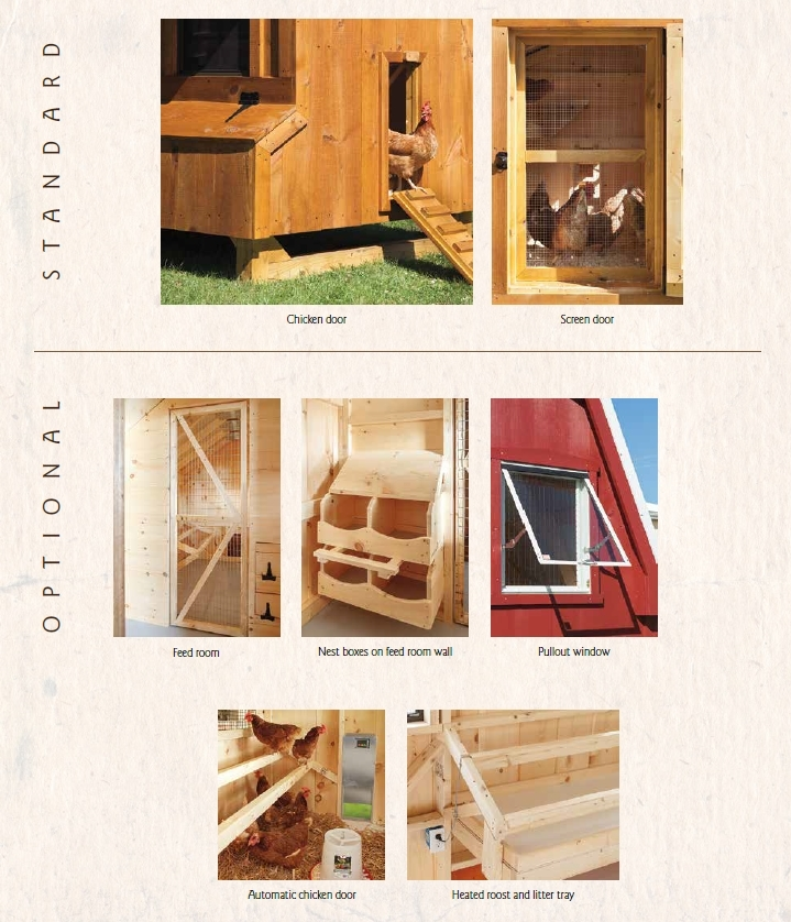 Chicken Coop Extra Options