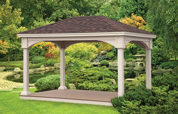 classic outdoor pavilion