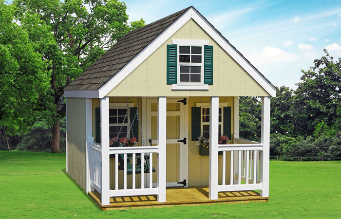 elite vinyl backyard kids playhouse for sale in md
