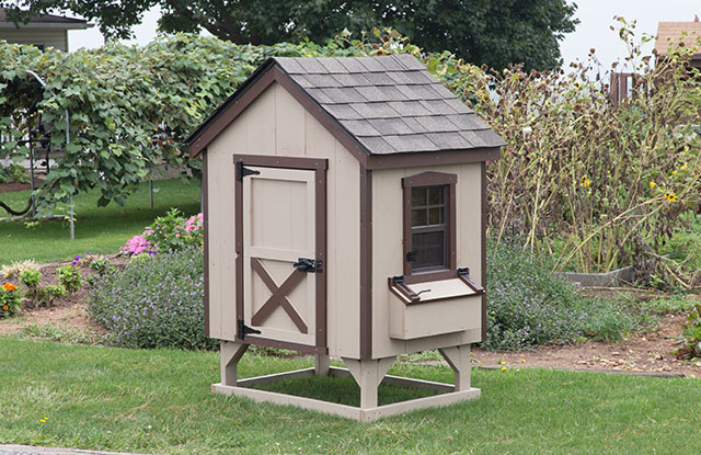 extra small backyard chicken coop