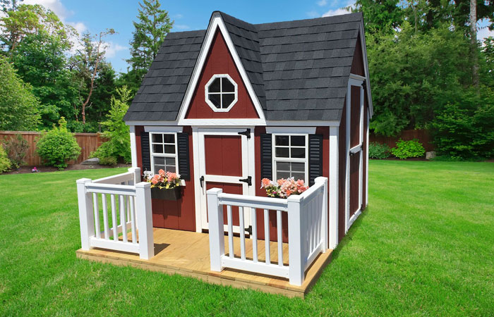luxury victorian style kids playhouse in md