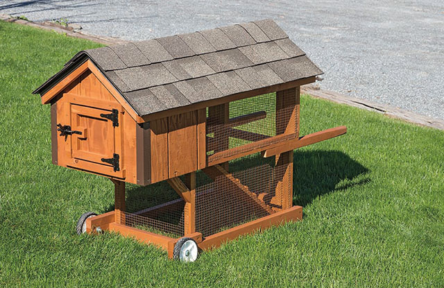 outdoor custom rabbit hutch on wheels